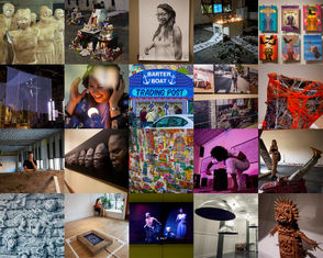 The first major announcement of the ArtPrize 2018 competition took place Monday night, Sept. 24, when jurors announced the five finalists in each of five categories at Rosa Parks Circle. One of the 20 non-venue finalists will win $200,000, and winners in five categories - two-dimensional, three-dimensional, installation, time-based and venue - will each take home $12,500.