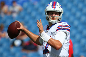 Orchard Park, N.Y. -- When Buffalo Bills coach Sean McDermott made the move to rookie Josh Allen at quarterback after one week with Nathan Peterman running the show it was a safe bet that 2018 was going to be all about the highest Bills quarterback draft pick in the organization's history. Allen had an encouraging debut by most accounts. He threw two interceptions but made a few big plays with his arm and his legs. He finished with 245 yards and a touchdown late to Kelvin Benjamin and at the very least looked like a competent quarterback in his first outing. Bills offensive coordinator Brian Daboll held his weekly press conference Monday at One Bills Drive and gave his impressions of how Allen performed in his first regular season game.