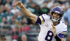 Quarterback Kirk Cousins chose the Vikings over the Jets in free agency earlier this year.
