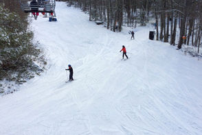 Children enjoy a day at Ski Butternut in this past photograph.