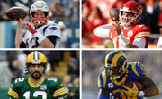 NFL players vote: Chiefs' Patrick Mahomes, Rams' Todd Gurley, Packers' Aaron Rodgers, Patriots' Tom Brady | Who's No. 1 pick to build a team?