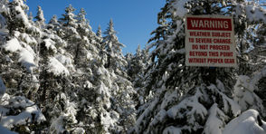 A hiker suffered a hip injury and ended up being unconscious temporarily on the trail of Slide Mountain while descending the highest peak in the Catskills Sunday. Earlier in the week, a hiker called assistance from a trail on Mt. Marcy after she got lost in a snow squall while coming down from the highest peak in the Adirondacks. (Photo is from Mt. Marcy trail) These situations and several other incidents within the past week all had happy endings due to rescue efforts by state Forest Rangers. All specifics below were supplied by the state Department of Environmental Conservation.