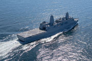 New Navy ship USS Portland arrives at Columbia River
