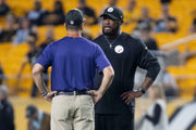 For Baltimore Ravens, big plays and missed opportunities define 1st half in Pittsburgh