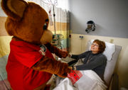 15 local mascots taken to hospital ... for a good cause (PHOTOS)