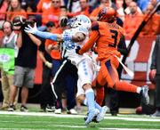 Box score: Syracuse football vs. North Carolina