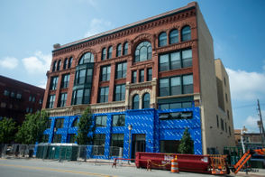 Take a look at the renovated old bank building in Bay City, Mich.