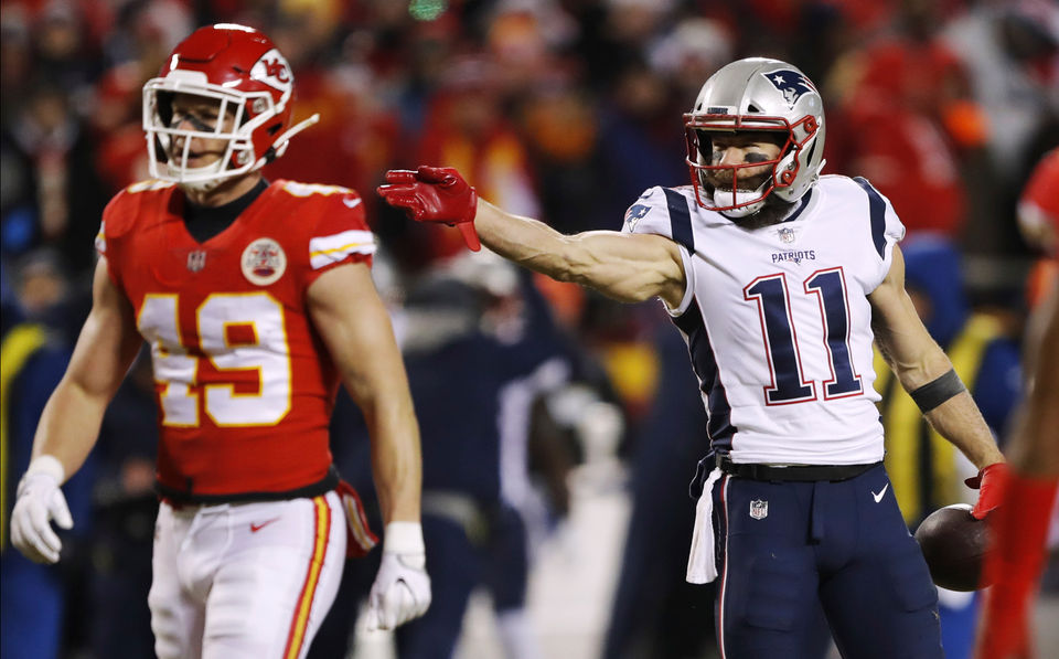 Did Patriots Julian Edelman Touch Ball On Muffed Punt Did Nfl Refs
