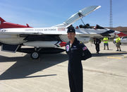 Countdown to Chicopee Westover Air Show begins with visit from U.S. Thunderbirds advance team