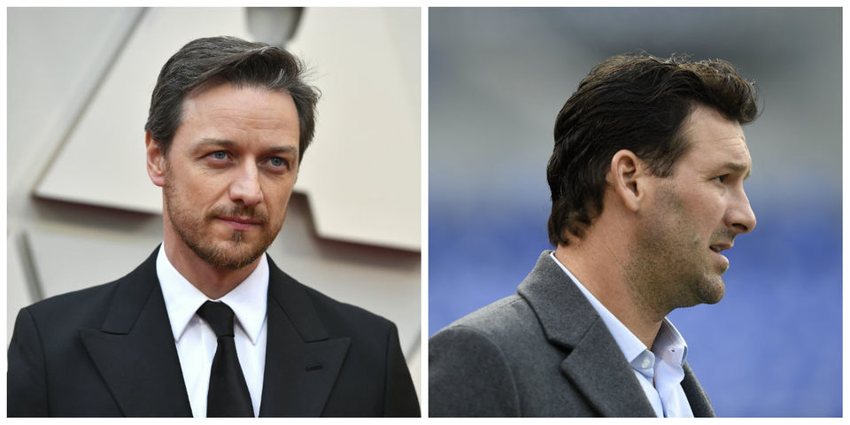 Today's famous birthdays list for April 21, 2019 includes celebrities James McAvoy, Tony Romo