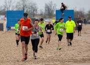 Hundreds cross finish line at Muskegon beach 5K obstacle course run