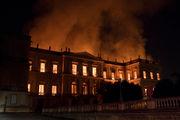 Fire rips through 200-year-old Brazilian museum