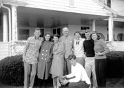 Newly released photos by JFK library offers rare inside look at Kennedy family