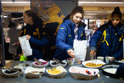 What do Michigan Wolverines eat? Try 12,000 lbs. of chicken and lots of eggs