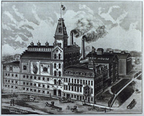 Images from the Haberle Congress Brewing Co., which operated in Syracuse's North Side from 1857 to 1962. It was the last survivor from the heyday of Syracuse brewing in the 1800s.