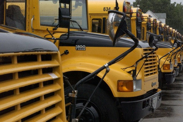 School bus driver suspended for texting 10-year-old student