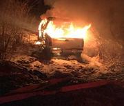 Truck stolen, set ablaze in Wilbraham