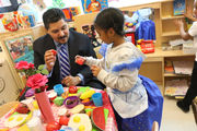 12 highlights from Schools Chancellor Richard Carranza's first visit to Staten Island