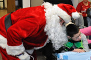 Santa visits 100 special needs kids at Colonial IU in Palmer Township