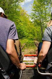 New rail bike tour in Upstate NY opens this month, and it's already sold out