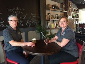 Scott and Michele Quinn DeLap open a new beer destination in downtown Auburn.