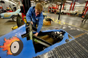Solar car built by Oregon students to go on display at World of Speed
