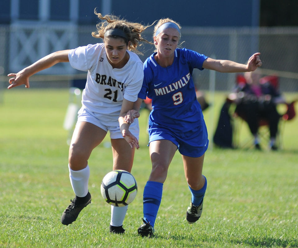 6f1602b01 PHOTOS  Absegami battles to tie with Millville · Girls Soccer