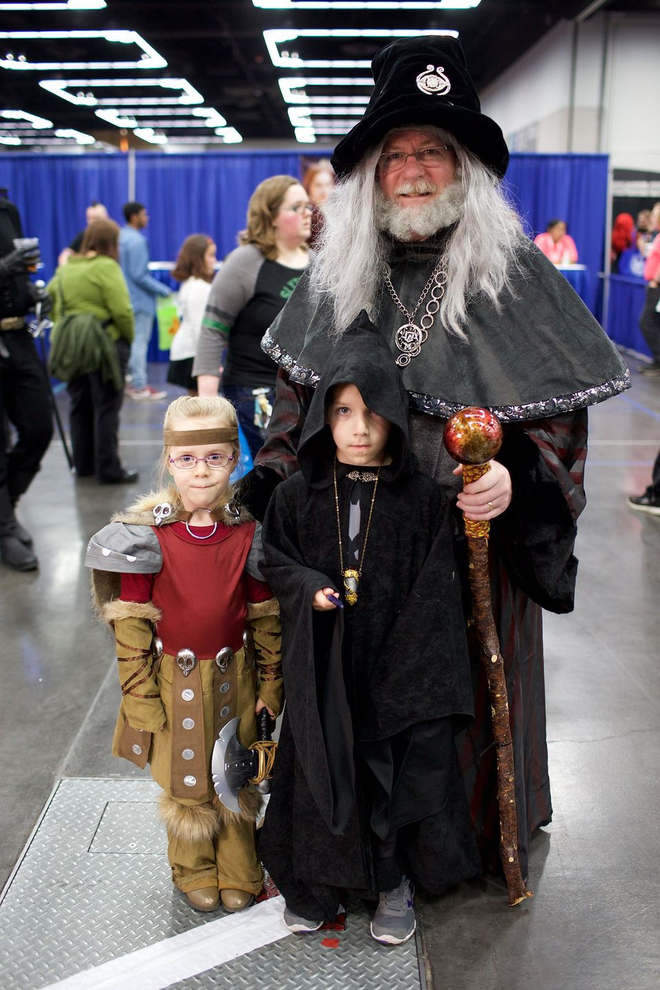 Canu0027t go wrong with the classics  sc 1 st  OregonLive.com & Kids of comic con: The 13 best childrenu0027s costumes from Wizard World ...