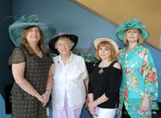 A spot of tea with the Daughters of the British Empire to celebrate Queen Elizabeth's birthday
