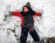 First storm of the new year turns out to be nuisance snow -- photos