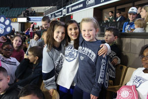 More than 4,000 students from the Worcester Public School System attended Wednesday's game against the Reading Royals.