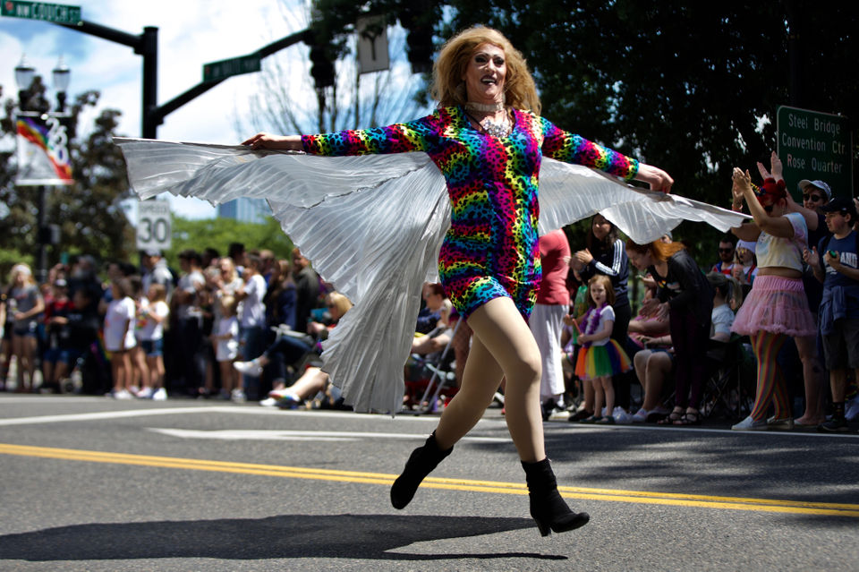 Portland Pride Parade 2019: Tens of thousands clad in rainbow colors flood downtown Portland (PHOTOS)