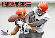 Will being on Hard Knocks help or hurt the Browns? Hey, Mary Kay!