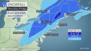 Snow and ice forecast coming into focus for Thursday, but questions remain