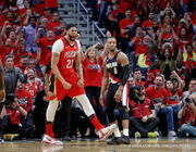 'He just was not going to let us lose': Anthony Davis sets scoring record vs. Blazers