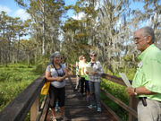 Lafitte garden club takes students outside for environment education course