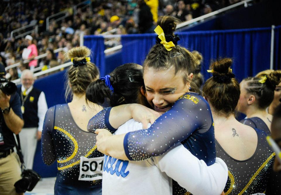 Ncaa Gymnastics Schedule 2019 NCAA women's gymnastics regionals 2019: Results, photos from Ann