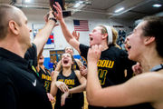 Midland Dow's D&D dooms Flint Carman-Ainsworth in SVL girls title game