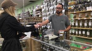 One gram of Gorilla Glue 4 sold at Healing Tree Wellness Center in Detroit made history Thursday.