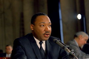 Dr. Martin Luther King, a civil rights leader, went to BU in 1951. He earned a Ph.D in systematic theology in 1955.