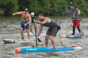 Cuyahoga Blazing Paddles race celebrates a river without flames