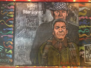 See Nick Saban, Bear Bryant drawn as Simon & Garfunkel in latest Druid City Brewing chalk art
