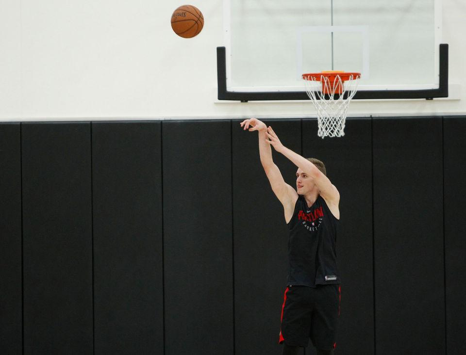 Portland Trail Blazers hold NBA predraft workouts