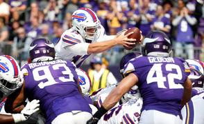 The Buffalo Bills face the Minnesota Vikings in Week 3 of the NFL season on Sept. 23, 2018.
