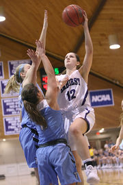 Amherst College women's basketball claims third straight NESCAC title with victory over Tufts