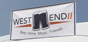 The popular eating, drinking and music venue is at the end of Restaurant Row, and is called West End and West End II.