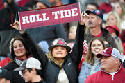 Alabama fans in the stands: Mississippi State