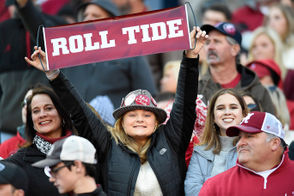 Alabama fans pulled the Crimson Tide through another hard-fought SEC showdown against Mississippi State. See photos of the Bama faithful cheering from the Bryant-Denny Stadium fans below.