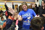 Washtenaw County's 2018 Teacher of the Year surprised with new car