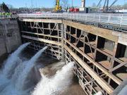 Water refills Michigan's Soo Locks as opening day nears